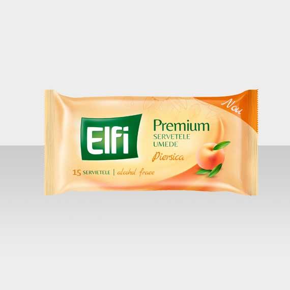 ELFI-Premium-Servetele-umede-Piersica