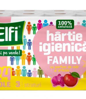 Elfi Family 24pcs 3ply Mar si orhidee